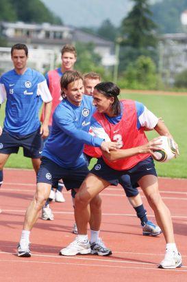 Тренировочный сбор основы в Австрии