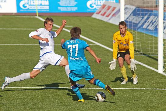Первенство молодежных составов 2010 года. Футбольный матч Зенит-Динамо