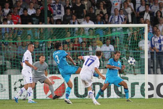 Лига чемпионов УЕФА 2010/2010. Плей-офф Осер-Зенит