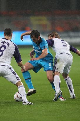 Лига Европы 2010/11 УЕФА 2010. Групповой этап, 1-й тур. Матч Андерлехт-Зенит