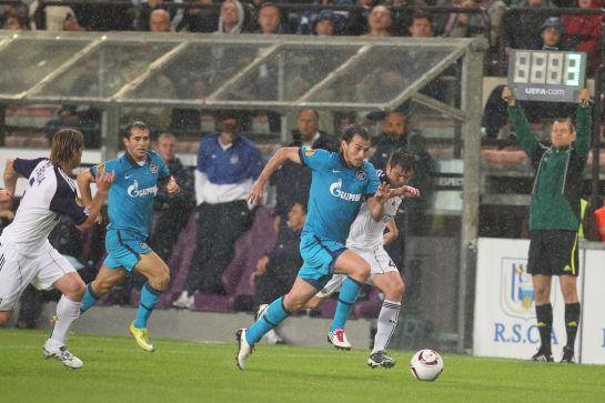 Лига Европы 2010/11 УЕФА 2010. Групповой этап, 1-й тур. Матч Анд