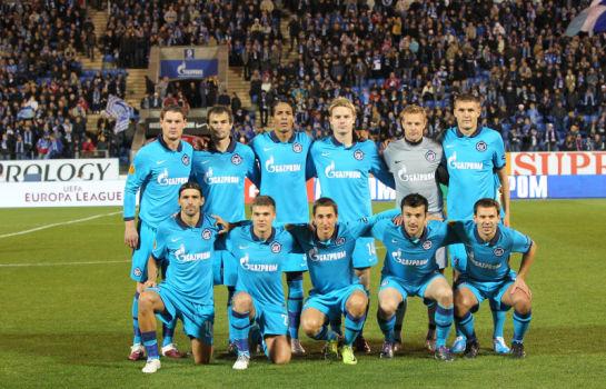 Лига Европы  УЕФА 2010. Матч Зенит- АЕК