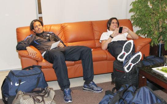 Отлет команды Зенит на сборы в ОАЭ