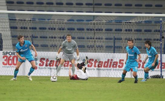 "MatchWorldCup 2011, матч  ""Спарта"" (Прага) - ""Зенит"" (Санкт-Петербург)"