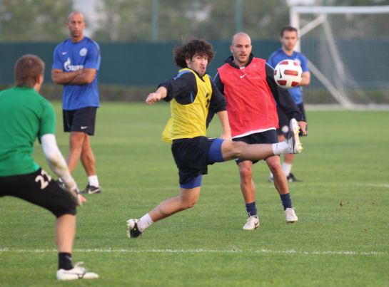 Тренировочный сбор в Дубаи, день девятый