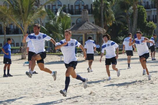 Тренировочный сбор в Дубаи, день одиннадцатый