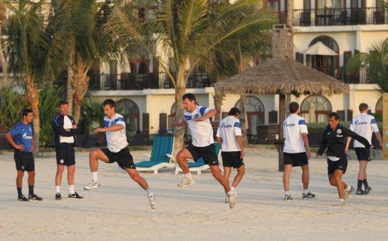 Тренировочный сбор в Дубаи