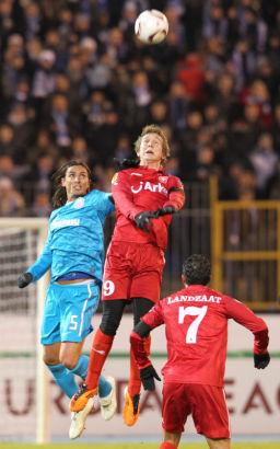 Лига Европы  УЕФА 2010/11. Матч Зенит  - Твенте