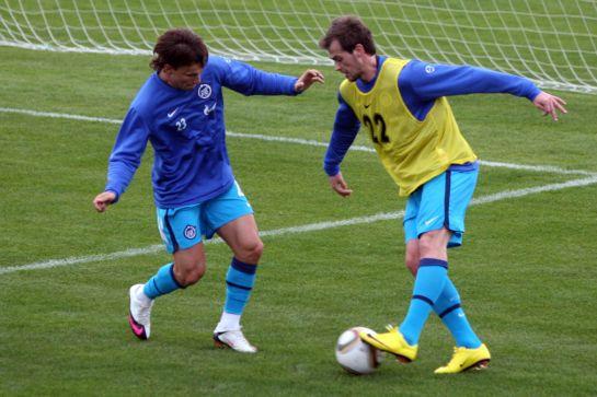 Футболисты ФК «Зенит» на четвертом  предсезонном сборе в Сиде