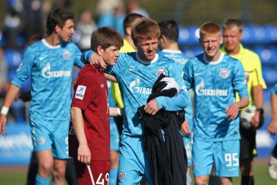Первенство молодежных составов 2011 года. Зенит - Рубин