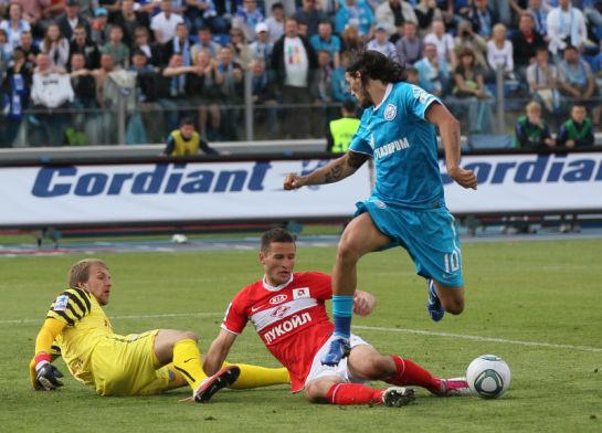 Чемпионата России 2011-12 Зенит - Спартак