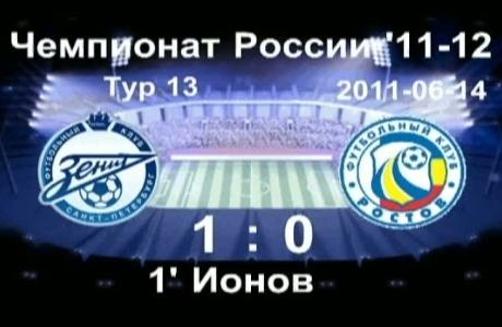 3D повтор,  Алексей Ионов, 1:0