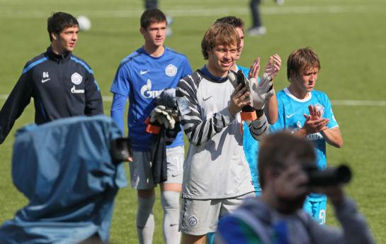Чемпионат России 2011 матч Зенит-м - К