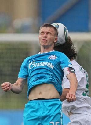 Первенство молодежных составов 2011\2012, матчЗенит - Терек