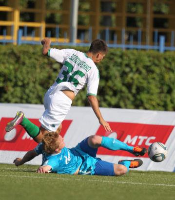 Первенство молодежных составов 2011-12, 22-й тур, матч Зенит - Краснодар