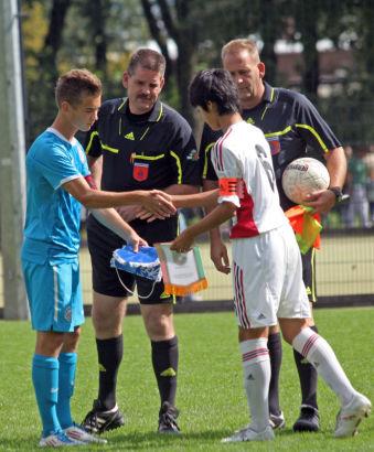 Международный турнир в Голландии. U-12 и U-14
