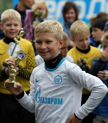 Команда Академии 2002 года рождения на турнире «Балтийская осень»