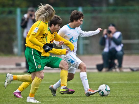 Первенство молодежных составов 2011, 30 тур. Матч Кубань - Зенит