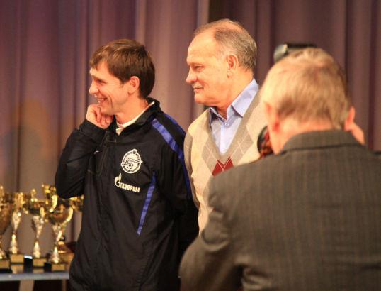 Федерация футбола Санкт-Петербурга награждает команды Академии