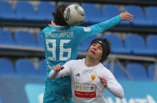 Матча 31-го тура первенства России среди молодежных команд клубов премьер-лиги «Зенит» - «Анжи»