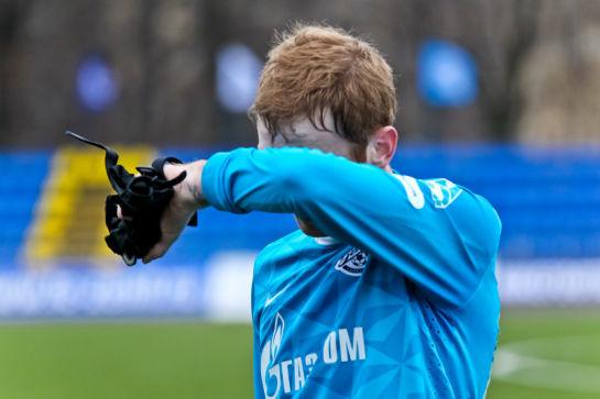 Матч 31-го тура первенства России среди молодежных команд клубов премьер-лиги Зенит — Анжи