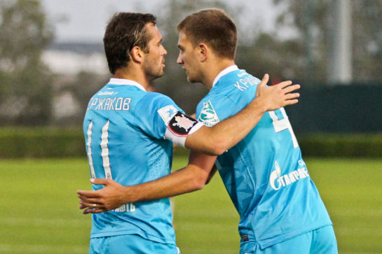 Товарищеский матч Зенит - Локомотив (Ташкент)
