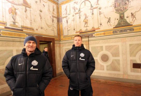 Прием в  резиденции мэра Флоренции