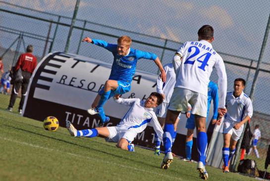 Товарищеский матч «Зенит» U-18 – «Жетысу» (Казахстан)