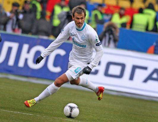 Чемпионат России 2011-2012,  матч ЦСКА - Зенит