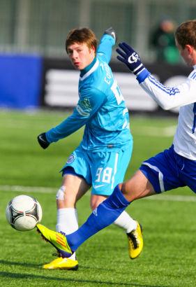 Турнир молодежных команд 2011/2012, 5 тур. Матч: Динамо(М) - Зенит