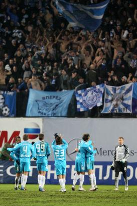 Чемпионат России 2011/2012 Матч 34-го тура Динамо - Зенит