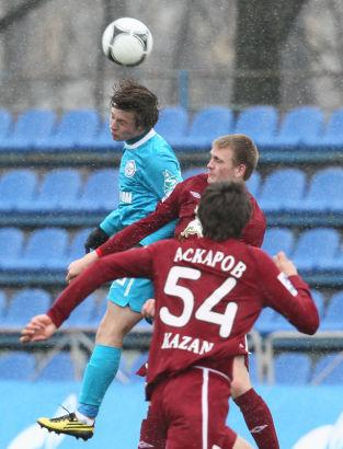 Турнир молодежных команд 2011/12, 6-й тур, Зенит - Рубин