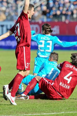 Чемпионат России 2011/12, матч: Зенит - Рубин