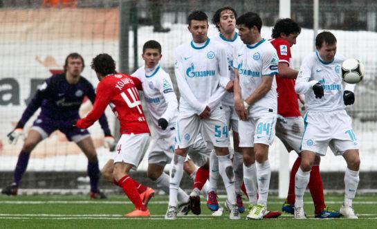 Турнир молодежных команд 2011/2012, 7 тур. Матч