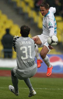 Матч 37-го тура СОГАЗ-Чемпионата России «Спартак» - «Зенит»