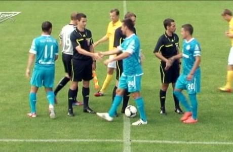 Лучшие моменты матча Зенит Русь