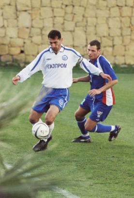 Испания, 2003 год. Контрольный матч на очередном тренировочном сборе