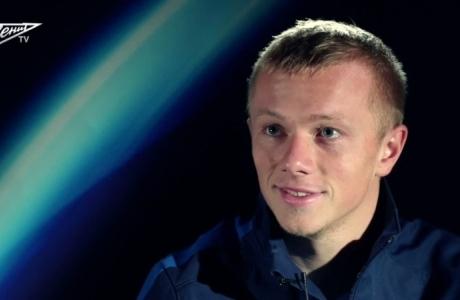 Интервью защитника ФК «Зенит» Рената Янбаева