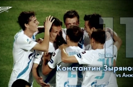 Голосование за лучший гол «Зенита» в осенней стадии сезона 2012/2013: часть вторая