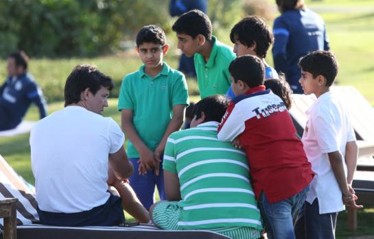 Сборы в Дубае: 18 января, вечерняя тренировка