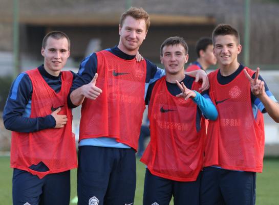 Третий зимний сбор молодежного состава «Зенита» вБелеке: заключительные тренировки