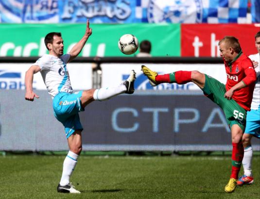Чемпионат России 2012/2013, «Локомотив»— «Зенит»