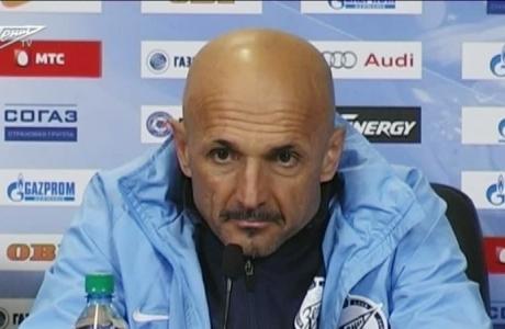 Пресс-конференция Лучано Спаллетти после матча с«Аланией»