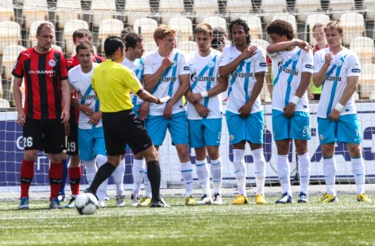 Матч 30-го тура СОГАЗ-Чемпионата России «Амкар»— «Зенит»