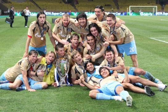Супер Кубок УЕФА — 2008. Зенит — Манчестер Юнайтед