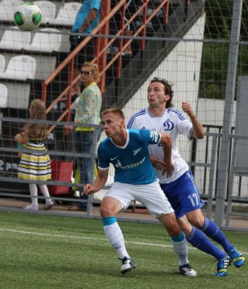 Матч первенства молодежных составов «Динамо»-м— «Зенит»-м