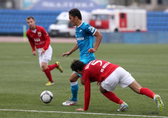Первенство команд второго дивизиона, зона «Запад», «Зенит-2» — «Русь»
