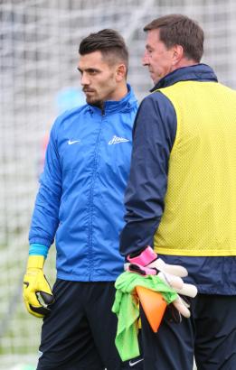 Тренировка «Зенита» перед матчем «Зенит» — «Спартак»