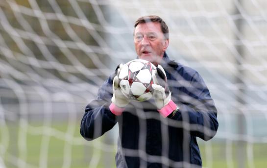 Тренировка «Зенита» перед матчем Лиги чемпионов УЕФА 2013/2014, «Зенит»— «Аустрия»