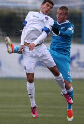 Лига чемпионов УЕФА, юношеский турнир, «Зенит»-м— «Аустрия»-м.